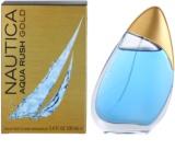 Nautica Aqua Rush Gold Eau de Toilette für Herren 100 ml
