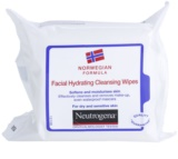 Neutrogena Face Care Cleansing Napkins For Dry To Sensitive Skin