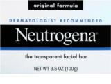 Neutrogena Face Care Original Formula sabonete de limpeza para rosto