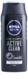 Nivea Men Active Clean šampon s aktivními složkami uhlí