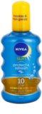 Nivea Sun Protect & Refresh neviditeľný sprej na opaľovanie SPF 10
