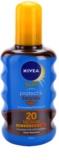 Nivea Sun Protect & Bronze суха олійка для засмаги SPF 20