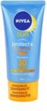 Nivea Sun Protect & Bronze crema solar facial  intensiva SPF 30