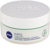 Nivea Visage Pure & Natural creme de dia   para pele normal a mista
