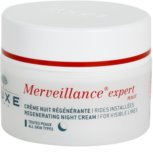 Nuxe Merveillance Regenerating Night Cream For All Types Of Skin