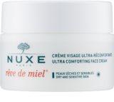 Nuxe Reve de Miel Voedende en Hydraterende Dagcrème voor Droge Huid
