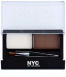 NYC Browser Brush-On set pentru sprancene perfecte