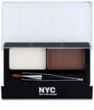 NYC Browser Brush-On Set für perfekte Augenbrauen