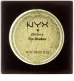 NYX Professional Makeup Chrome sombra de ojos