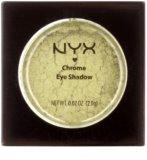 NYX Professional Makeup Chrome očné tiene