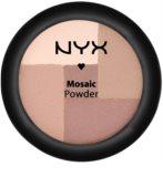 NYX Professional Makeup Mosaic púdrová lícenka