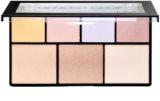NYX Professional Makeup Strobe of Genius bőrvilágosító paletta