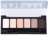 NYX Professional Makeup The Natural палетка тіней з аплікатором