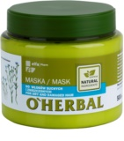 O'Herbal Linum Usitatissimum maska za suhe in poškodovane lase