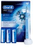 Oral B Pro 2000 D20.543.2M Blue Box Professional elektrische Zahnbürste