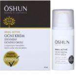 OSHUN Snail Active krema za učvrstitev kože okoli oči s polžjim ekstraktom
