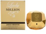 Paco Rabanne Lady Million Absolutely Gold parfüm nőknek 80 ml