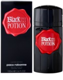 Paco Rabanne Black XS Potion Eau de Toilette para homens 100 ml
