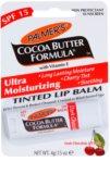 Palmer's Face & Lip Cocoa Butter Formula feuchtigkeitsspendendes, tönendes Lippenbalsam LSF 15