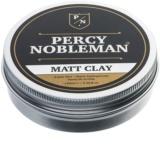 Percy Nobleman Hair Style cera mate para cabelo e barba com argila