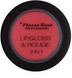 Pierre René Lipgloss блиск для губ та рум'яна 2 в 1