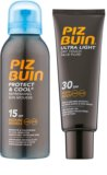 Piz Buin Protect & Cool coffret I.