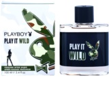 Playboy Play it Wild after shave pentru barbati 100 ml