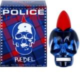 Police To Be Rebel eau de toilette férfiaknak 125 ml