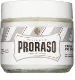 Proraso White Pre Shave Crème  voor Gevoelige Huid