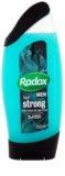 Radox Men Feel Strong gel de duche e champô 2 em 1