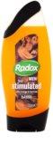 Radox Men Feel Stimulated gel de duche e champô 2 em 1