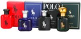 Ralph Lauren The World of Polo Fragrances ajándékszett I. Red + Blue + Black + Green