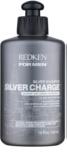 Redken For Men Silver Charge posilující šampon pro šedivé vlasy