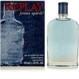 Replay Jeans Spirit! For Him eau de toilette férfiaknak 50 ml