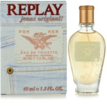 Replay Jeans Original! For Her toaletna voda za ženske 40 ml