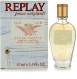 Replay Jeans Original! For Her Eau de Toilette for Women 40 ml