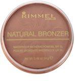 Rimmel Natural Bronzer vízálló bronzosító púder SPF 15