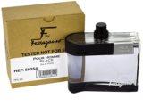 Salvatore Ferragamo F by Ferragamo Black тоалетна вода тестер за мъже 100 мл.