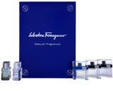 Salvatore Ferragamo Masculin Fragrances Gift Set Pour Homme 5 ml, Free Time 5 ml, Black 5 ml, Attimo 5 ml, Attimo L'eau 5 ml