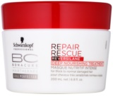 Schwarzkopf Professional BC Bonacure Repair Rescue nährende Tiefenpflege für beschädigtes Haar