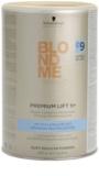 Schwarzkopf Professional Blondme Color Premium Aufheller 9+ Pulver vermindertes Stauben