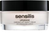 Sensilis Upgrade Chrono Lift crema de noche con efecto lifting para la definición del contorno facial