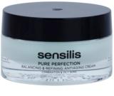 Sensilis Pure Perfection Creme zum Normalisieren von fettiger Haut mit Antifalten-Effekt