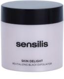 Sensilis Skin Delight rewitalizujący peeling z węglem drzewnym rozjaśniający skórę