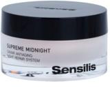 Sensilis Supreme Midnight globinsko regeneracijska nočna krema proti gubam