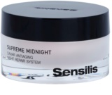 Sensilis Supreme Midnight tiefenwirksame regenerierende Nachtcreme mit Antifalten-Effekt