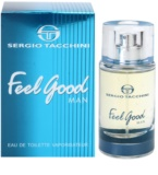 Sergio Tacchini Feel Good Man Eau de Toilette para homens 30 ml