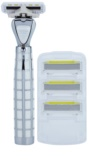 Shave-Lab Luxury Tres P.L.4 Бритва Змінні картриджі 3 шт