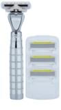 Shave-Lab Luxury Tres P.L.4 Rasierer Ersatzklingen 3 pc