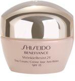 Shiseido Benefiance WrinkleResist24 дневен крем против бръчки  SPF 15